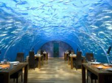 VERY ONE-OF-A-KIND CONRAD UNDERWATER HOTEL MALDIVES