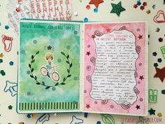 I just love these great journal challenges by @journaling-junkie. They are truly inspiring! March journal challenge, days 1-10.