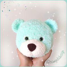 hook size: mm yarn: Kartopu Ana kuzusu Eyes: 14 mm some fiber fine black yarn ------------------------- ABBR. Large Teddy Bear, Baby Teddy Bear, Knitted Teddy Bear, Crochet Teddy, Crochet Bear, Free Crochet, Free Baby Blanket Patterns, Crochet Dolls Free Patterns, Baby Knitting Patterns