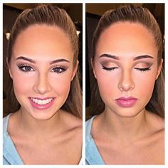 What an absolutely gorgeous face! Who wouldn't love their prom makeup to look like this? #repost of @aliaatcharlespenzone #makeup #makeupjunkie #ybcosmetics #cosmetics #lips #glam #eyebrowsonfleek #onfleek #lipstick #eyeshadow #highlight #contour #makeupgamestrong