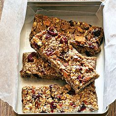 Fruit and Nut Chewy Bars | MyRecipes.com