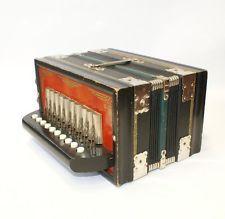 Parsifal Melodeon Vintage Accordion Antique One Row German Made Instrument Box Music Instruments, Antiques, German, Boxes, Ebay, Vintage, Button, Antiquities, Deutsch
