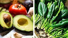 Salată de SPANAC și AVOCADO - benefică pentru CREIER și VEDERE Eggplant, Food Art, Avocado, Health Fitness, Vegetables, Eat, Smoothie, Drinks, Fine Dining