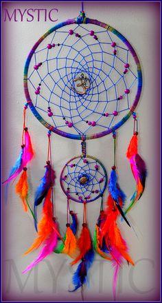 Dreamcatcher   #craft #handmade #pune #mumbai #bangalore… Diy Dream Catcher Tutorial, Beautiful Dream Catchers, Diy And Crafts, Arts And Crafts, Dream Catcher Craft, Dream Catcher Native American, Stained Glass Suncatchers, Wallpaper Magazine, Sun Catcher
