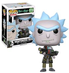 FUNKO POP! Rick And Morty Weaponized Rick #172 New Mint 2017 Release #FunkoPop #Collectibles