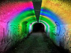 Tunnel of Lights - Utrecht