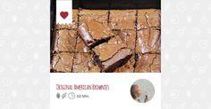 Original American Brownies - Ein Rezept von cuisine-glück - mealy