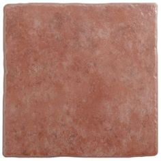Colours Calcutta Terracotta Ceramic Floor Tile, Pack of 9 (L)330mm (W)330mm: Image 1