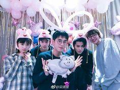 Shen Yue is not happy Meteor Garden Cast, Meteor Garden 2018, Los F4, F4 Boys Over Flowers, Chines Drama, Handsome Korean Actors, A Love So Beautiful, Garden Pictures, Guangzhou