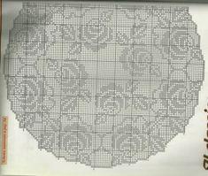 Kira scheme crochet: Scheme crochet no. 431