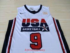 Michael Jordan Dream Team USA 9 Super RARE Jersey by AthleteJersey, $29.97