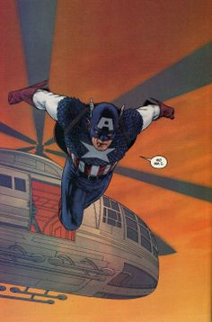 Captain America, By John Cassaday. This is a great story written by John Ney Rieber. #Marvel