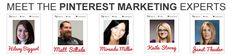 Meet the pinterest marketing experts