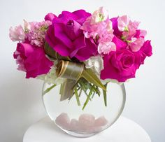 Rose Quartz - Floral Art