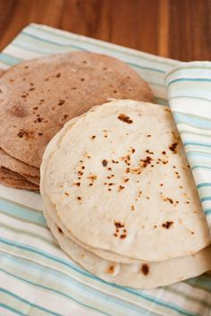 Cooking Classy: Homemade Tortillas - White and Whole Wheat Recipes---- simple quick and easy