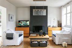 STUDIO EM TONS NEUTROS: apartamento com decoração muito original