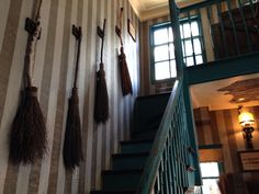 """Setting: Bilberry Cottage Line: """"Told you I kept all my brooms."""""""