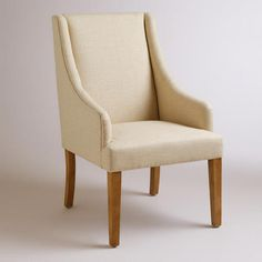 Linen Jayda Dining Chair | World Market