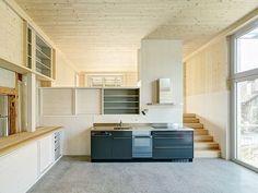 Jonathan Roider - Ibergstrasse house renovation, Winterthur-Iberg 2014. Via wbw, photos © Jürg Zimmermann.