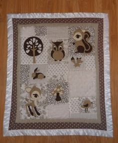 Applique Baby Quilt Patterns | Baby Quilt