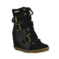 R$ 239,90 Sneaker Quizz Fivelas - 41-69917 | Vivi Tonin - Preto