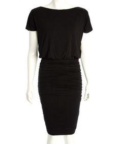 Black Perry Dress #zulily #zulilyfinds