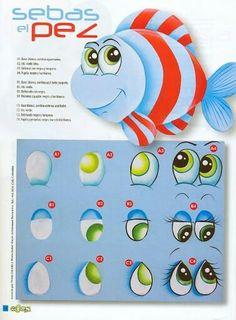 Ojitos pez