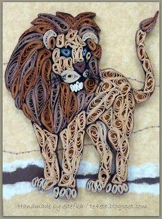 Шарени хартийки: Лъвът