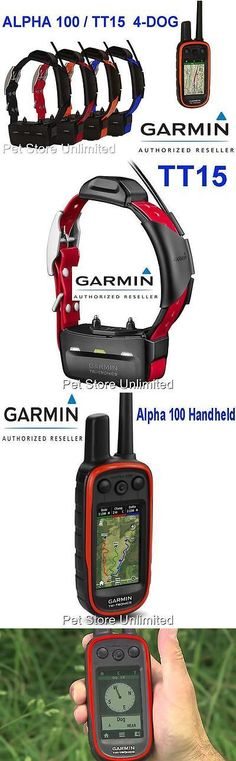 Other Dog Training and Obedience 146245: Garmin Alpha 100   Tt15 Collar Track And Train Gps Glonass 4 Dog Bundle -> BUY IT NOW ONLY: $1699.96 on eBay!