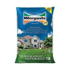 Milorganite Organic Nitrogen Fertilizer (36 lb.) by ChicagoFabrications