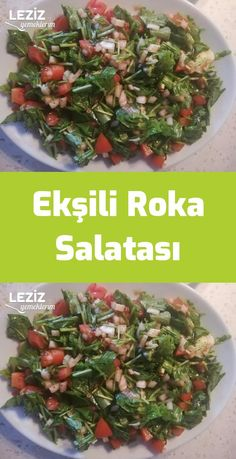 Sour Arugula Salad – My Delicious Food - Gesunde Desserts Salad Recipes Healthy Lunch, Healthy Chicken Recipes, Healthy Eating, Snack Recipes, Avocado Dessert, Avocado Toast, Arugula Salad, Turkish Recipes, Diet And Nutrition