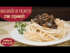 Espaguete de Palmito Pupunha
