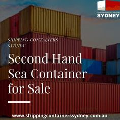 If you need a for exporting, importing or transporting goods, Shipping Containers Sydney has everything you need, offering both standard shipping containers and specialised shipping containers for sale.
