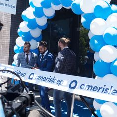 """Have you visited our flagship store in Gilbert, Arizona yet? Here are our co-founders Firas, Joey, and Moe at the ribbon cutting ceremony! Visit what Forbes calls, """"The Apple store of mattress stores"""" today: https://www.amerisleep.com/retail/gilbert-santan-village?utm_content=bufferabed5&utm_medium=social&utm_source=pinterest.com&utm_campaign=buffer"""