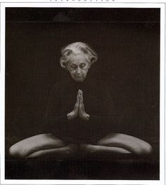'Yoga must not be practised to control the body: it is the opposite, it must bring freedom to the body, all the freedom it needs.' – Vanda Scaravelli. Image credit unknown. www.yogajournal.c... #Yoga #Vanda_Scaravelli