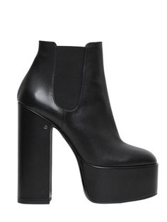 150MM LAURENCE LEATHER ANKLE BOOTS