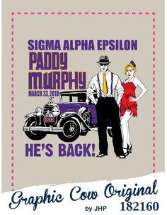 Paddy Murphy Gangster t-shirt design
