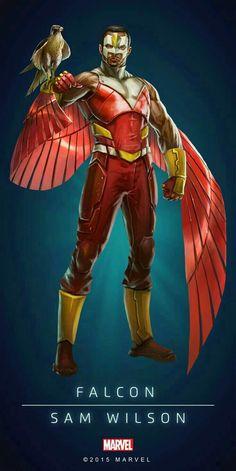 Marvel Falcon- Sam Wilson. For similar content follow me @jpsunshine10041