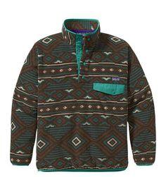 Patagonia Men's Synchilla® Snap-T® Pullover (DARK WALNUT)