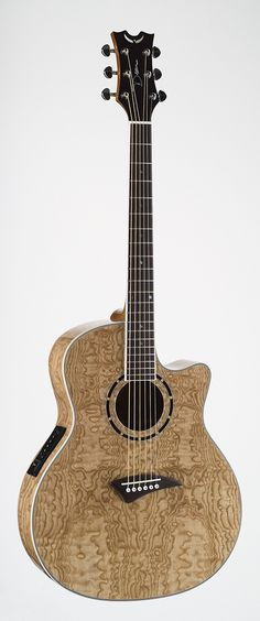 Dean Exotica Quilt Ash Acoustic Electric