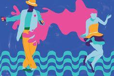 illustration, brazi, brasil, samba, dancing, dance