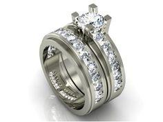 Wed fit diamond CAD design