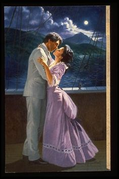 Elaine Gignilliat (pronounced Jen'-a-lat') is one of the foremost romance book cover artists. - Trend Old Book Ideas 2019 Amor Romance, Romance Art, Couple Romance, Fantasy Romance, Vintage Romance, Romance And Love, Romance Books, Couples In Love, Romantic Couples