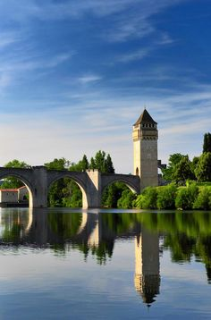 Cahors is part of the Via Podiensis pilgrimage route in France ... a Camino experience like nothing else. Click pin through to post for more info.