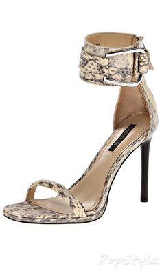 Rachel Zoe Melina Real Snake Dress Sandal