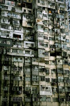 Hong Kong apartment building  hong kong now soon the whole world with population increase