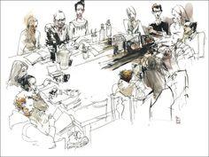 artist: Marc Taro Holmes 13Jan03_Centaur_TableWork_Combined