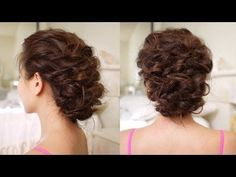 Easy Messy Updo Hair Tutorial by Cinthia Truong