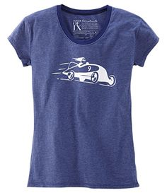 """Title Nine limited edition """"Car and Driver"""" shirt. Oh fer kewt!"""