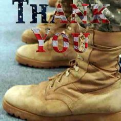 A BIG Thanks to our service men and women and besides that, I love the boots.